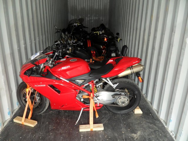 international motorcycle transport