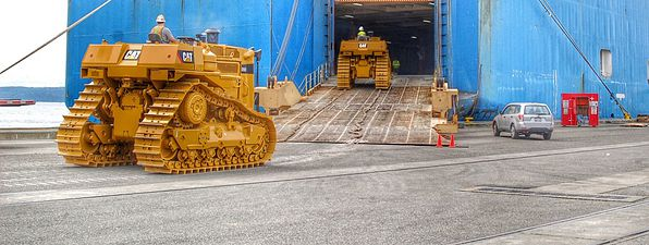 international machinery shipping