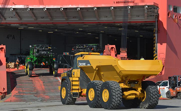 Shipping Equipment RoRo
